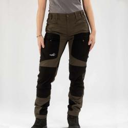 active stretch pants brown women 02