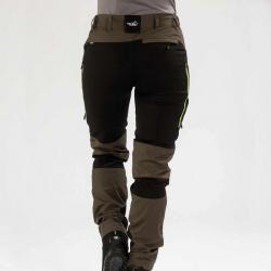 active stretch pants brown women 04