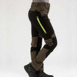 active stretch pants brown women 05