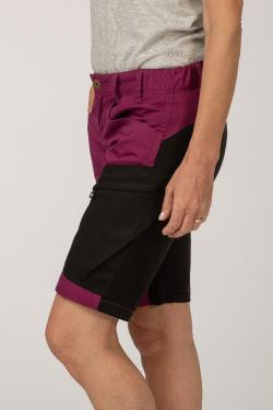 arrak activ strech shorts purple printimg 9998