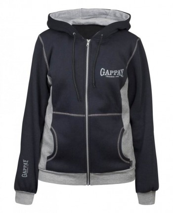 Gappay Womens Relax Sweat Shirt With Hood & Zipper