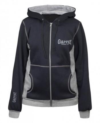 Gappay Womens Relax Sweat Shirt With Hood & Zipper