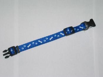 Puppy Collars Blue Bone