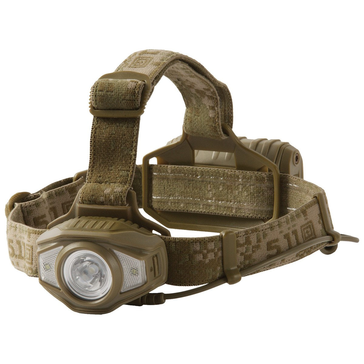 5.11 Tactical S+R H2 Headlamp One Size Style 53245 Black