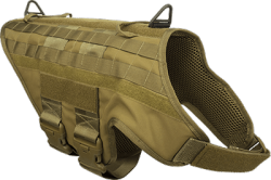 CaliberDog K9 Tactical MOLLE Vest