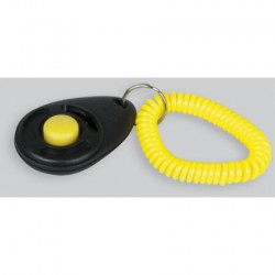 Clicker with handle