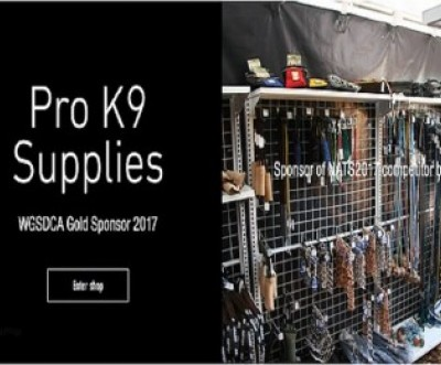 Pro K9 Supplies 2017 Gold Sponsor for WGSDCA Working German Shepherd & Dogsport Clubs of Australasia IPO Nationals