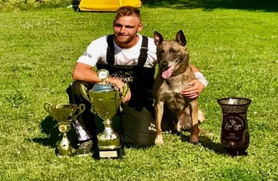 Jany Bohm Number 1 Again 2017 IPO FCI Czech National Champion Congratulations